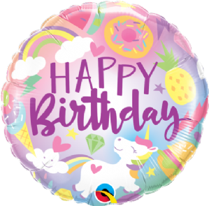 Fantastical Fun Birthday Foil Balloon | Free Delivery available